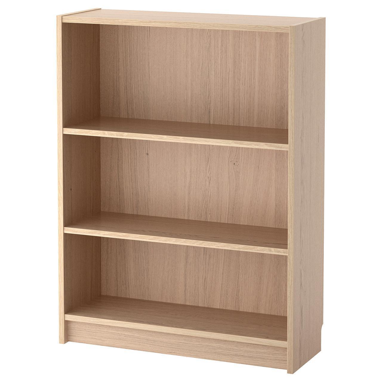 Стеллаж IKEA BILLY 80x28x106 см дубовый шпон 104.042.08