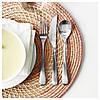 Комплект столовых приборов IKEA BEHAGFULL 24 шт нержавеющая сталь 203.042.32, фото 2