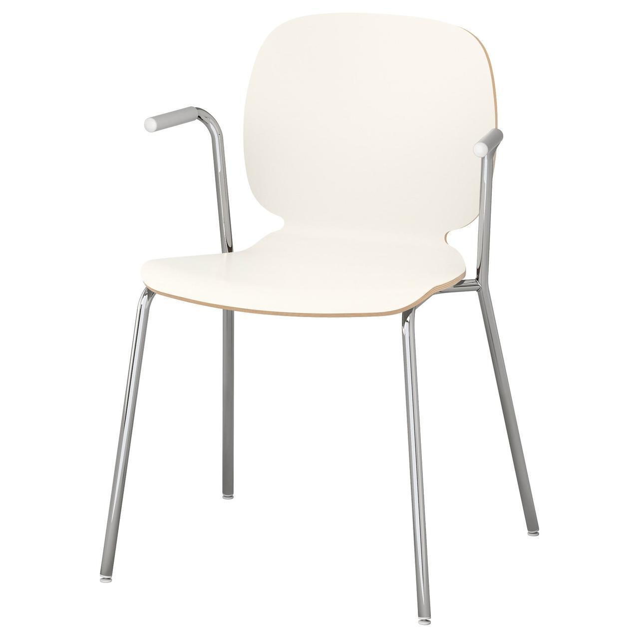 Кресло кухонное IKEA SVENBERTIL Dietmar белое 191.977.04