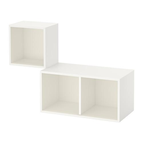 Сочетание настенных шкафов, белый, 105x35x70 см IKEA EKET 391.888.12