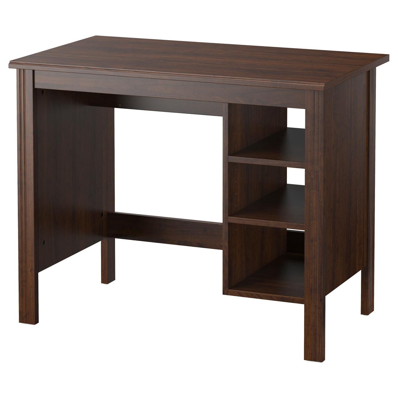 Компьютерный стол IKEA BRUSALI коричневый 303.022.99