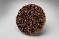 Scotch-Brite™ Roloc™ SC-DR 07480 - Шлифовальный круг, для изделий из нерж. стали ø 50 мм, коричневый,   A CRS