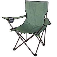 Складное туристическое кресло «Кемпинг», зеленое