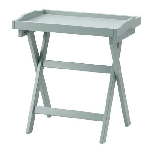 Журнальный столик IKEA MARYD сервировочный зеленый 403.044.67