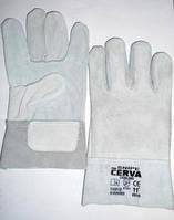 Перчатки замшевые (серые) cerva