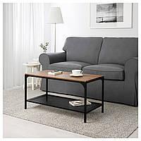 Кофейный столик IKEA FJÄLLBO 90x46 см черный 703.354.86
