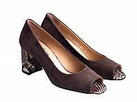 Туфли Etor 5949-9-10407-1 таупе, фото 1
