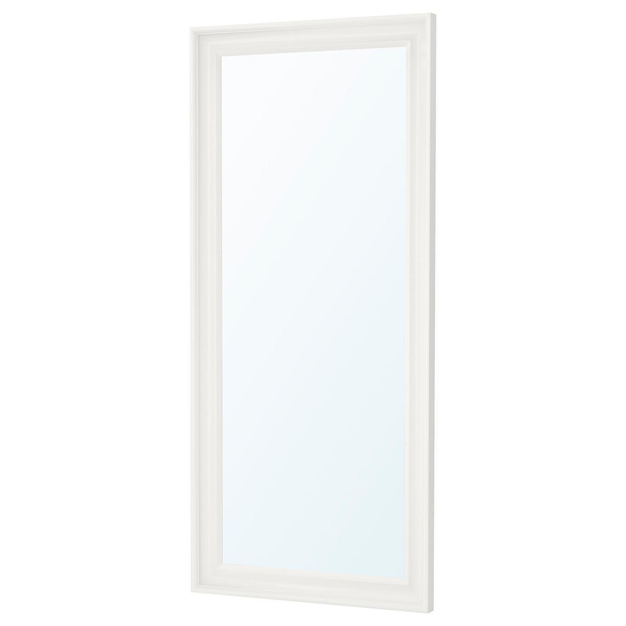 Зеркало IKEA HEMNES 74x165 см настенное белое 003.924.99