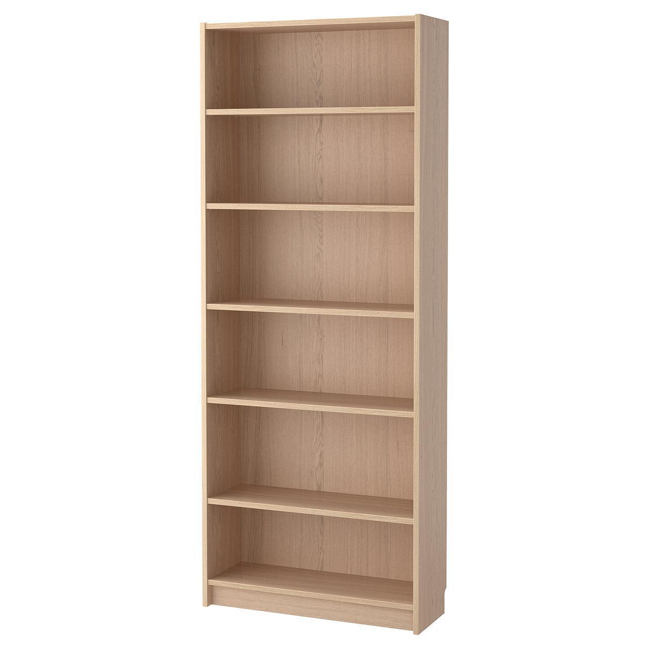 Стеллаж IKEA BILLY 80x28x202 см беленый дуб 904.042.09