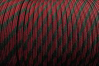 Паракорд красно - зеленый 550 red camo #006 10 метрів