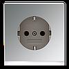 SCHUKO®-розетка 16 A / 250 B ~ ES2520-OLEDW GCR2520-OLEDW