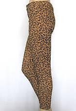 жіночі джинси  принт леопард, фото 2
