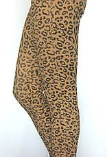 жіночі джинси  принт леопард, фото 3