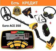 Акция ПОДАРОК!. Оригинальный металлоискатель Garrett  Euro ACE 350. ►24мес. гарантия.