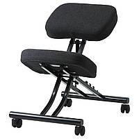 Коленный ортопедический стул IKEA EIFRED Dansbo темно-серый 802.797.53