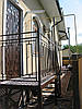 Дверь металлическая с коваными элементами