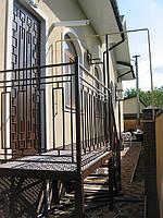Дверь металлическая с коваными элементами, фото 1