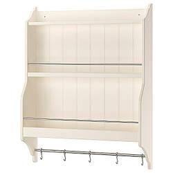 Полка для тарелок IKEA TORNVIKEN 80x100 см кремовая 603.916.56