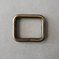 Рамка литая 25 мм антик