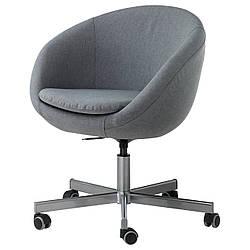 Кресло IKEA SKRUVSTA Vissle серый 302.800.04