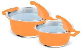 Набір посуду керамічної Barton Steel BS-6914 красива посуд на подарунок