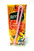Сок Riviva с апельсиновым вкусом 200 мл. Польша