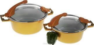 Набір посуду керамічної Barton Steel BS-6914 красива посуд на подарунок, фото 2