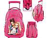 Рюкзак TOP Model Альпака на колесиках, розовый, фото 5