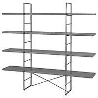 Стеллаж IKEA ENETRI серый 492.276.05