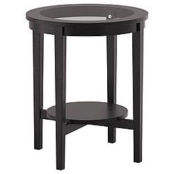 MALMSTA Придиванный столик, черно-коричневый 802.611.83