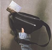 Поясная сумка унисекс вельветовая