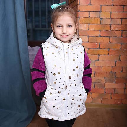 Жилетка Детская Жилет для девочки Детский жилет купить Новинка 2019 Топ продаж Подарок сумка, фото 2