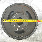 Шкив 2-ух ручейный диаметром 200 мм. вал 30 мм. (чугунный)