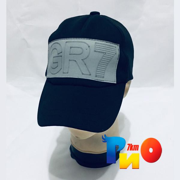 """Детская летняя кепка, """"Gr-7"""", чёрная, для мальчиков (р-р 52-54), (5 ед.в уп.), Украина"""