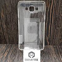 Силиконовый чехол для Samsung A7 2015 (A700) Прозрачный
