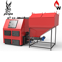 Пелетний Котел твердопаливний РЕТРА-4М 550 кВт (з пальником совкового типу)