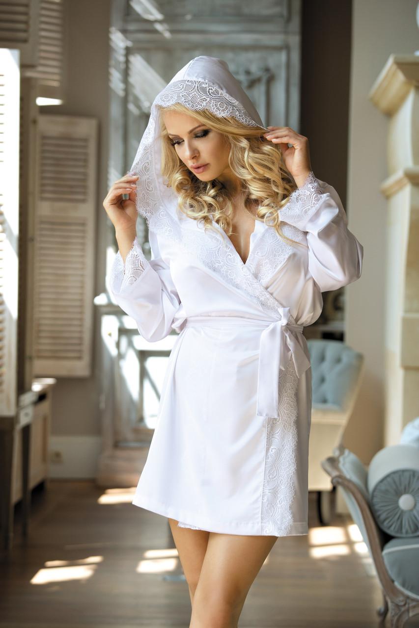 Ажурный халат Excellent beauty N-703 (Польша)