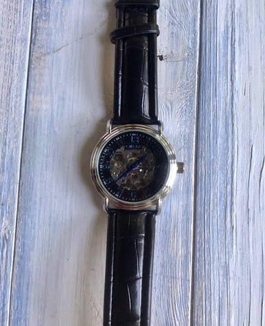 Часы мужские синие с самозаводом, фото 2