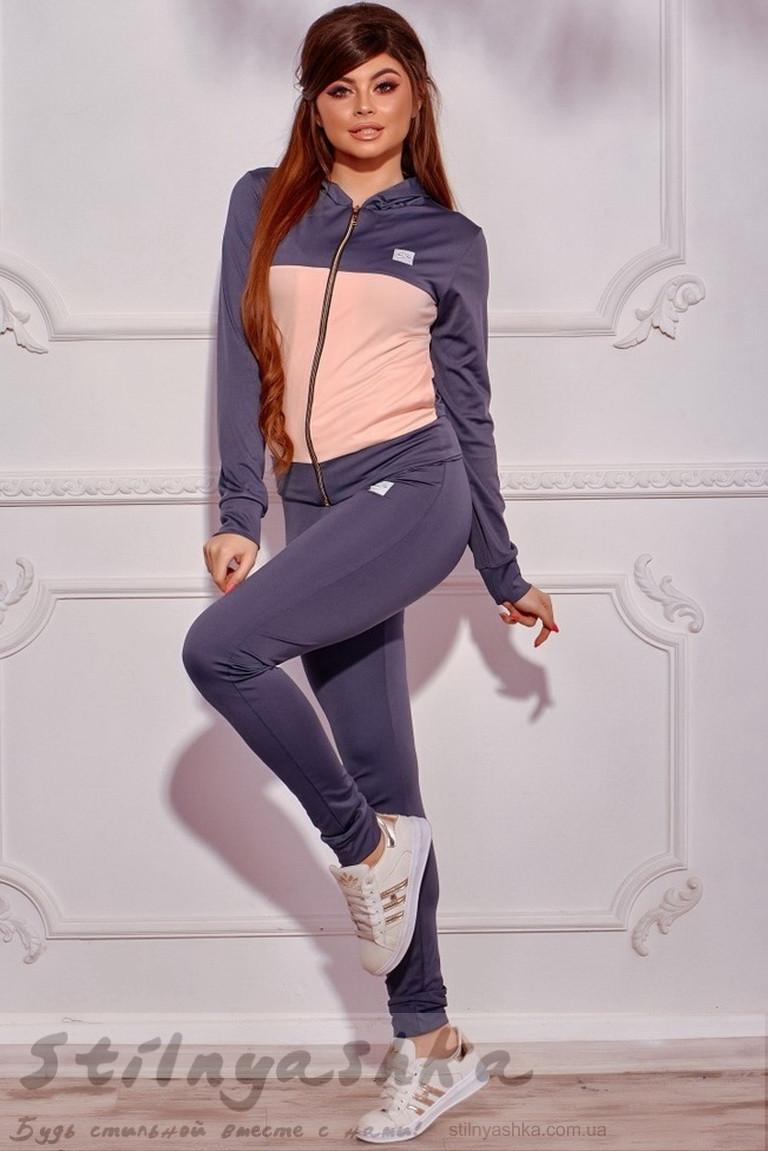 da2316a8 Костюм для Фитнеса Nike Тройка Серый с Пудрой — в Категории ...