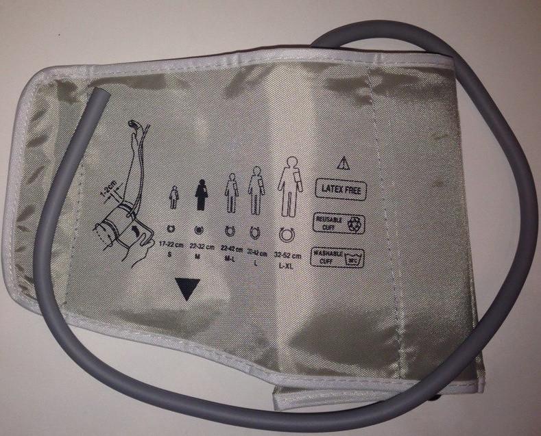 Манжета ЛЮКС для электронного тонометра на плече стандартный размер (22-32 см.)