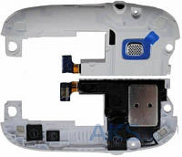 Динамик Samsung I9300 Galaxy S3 Полифонический (Buzzer) с антенной, с разъёмом наушников Original White