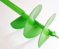 Шнековый бур зелёный (150мм)