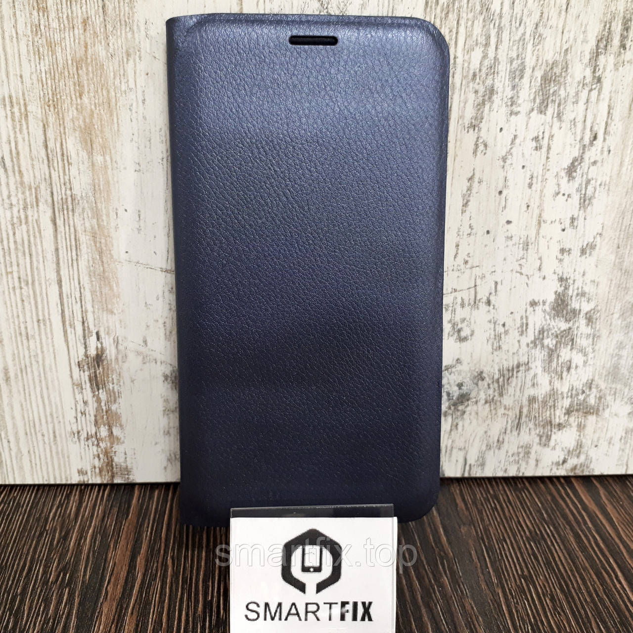 Чехол книжка для Samsung A7 2016 (A710) Синий