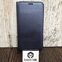 Чехол книжка для Samsung A7 2016 (A710) Синий, фото 1