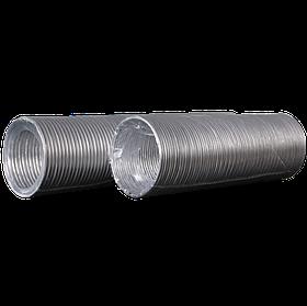 Воздуховод алюминиевый Эра гофрированный 100 мм х 3 м (60-150)