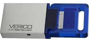 USB флешка VERICO Hybrid mini 16GB Blue