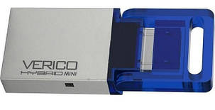 USB флешка VERICO Hybrid mini 16GB Blue, фото 2