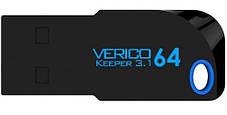 Флешка VERICO Keeper USB 3.1 64Gb Black, фото 2