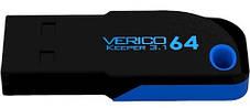 Флешка VERICO Keeper USB 3.1 64Gb Black, фото 3