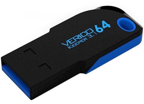 Флешка VERICO Keeper USB 3.1 64Gb Black
